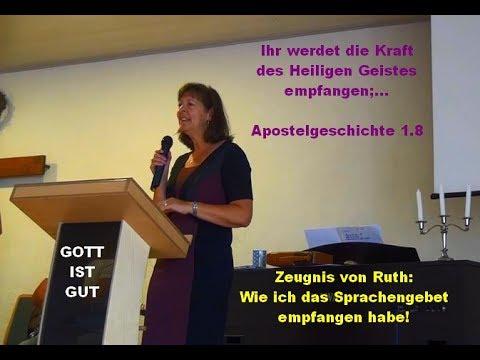 So Erlebte Ich Die Taufe Im Heiligen Geist Ruth Schmitt Zeugnis