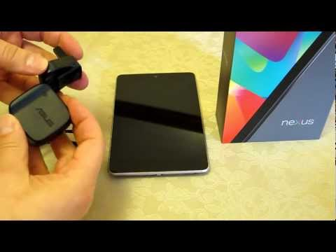 Google Nexus 7 - Charger details - Power requirements if using an ...