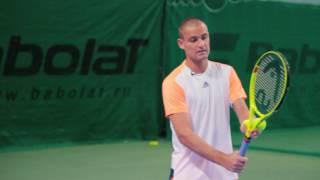 Уроки тенниса с Михаилом Южным в ВИТАСПОРТ
