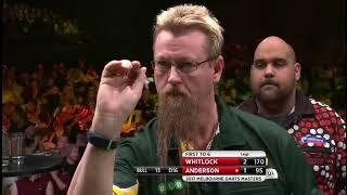 2017 Melbourne Darts Masters Round 1 Whitlock vs K.Anderson