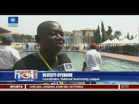 National Schools Swimming League Begins In Lagos Pt 4 | News@10 |