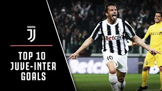 BEST DERBY D ITALIA GOALS JUVENTUS VS INTER MILAN TOP 10