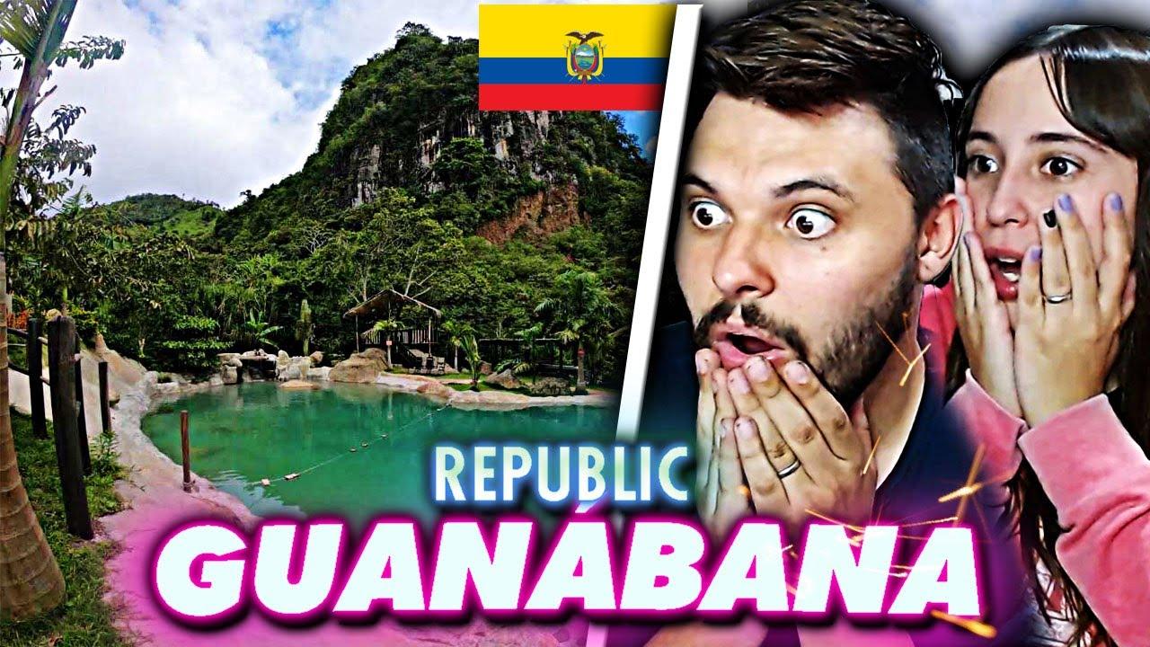 💥ARGENTINO reacciona a GUANÁBANA REPUBLIC 🏝 | el CANCÚN del ECUADOR 🌞 | es MARAVILLOSO | Falso Nueve