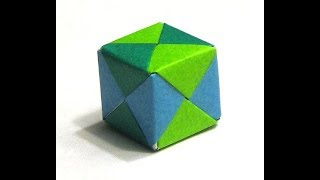 Gambar cover Origami Cube Tutorial  Simple And Eazy Paper Art   Crafts For Kids