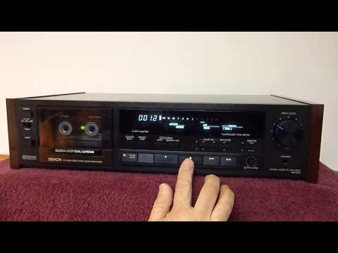 Audrad's Denon DR-M44 Stereo Cassette Deck