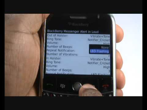 Changing your ringing tone tutorial | BlackBerry Bold 9000 | The Human Manual