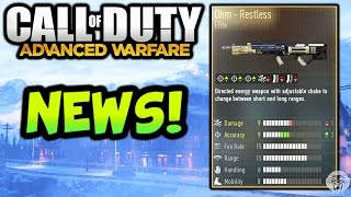Advanced Warfare: NEWS! Ohm Elite Variant, Laser Sniper DLC, Old Map Remake (Call of Duty AW)