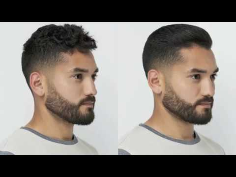 How To Straighten Mens Hair In 30 Min 3 Month Results Johnny B