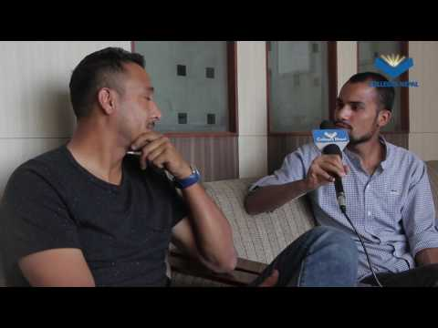 Paras Khadka Interview   Captain of Nepali Cricket Team   Colleges Nepal