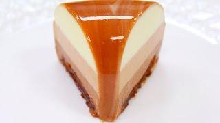 Муссовый торт Три Шоколада ТилиТелеТесто /  Triple Chocolate Mousse Cake