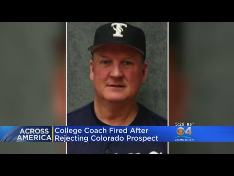 Texas College Baseball Coach Fired For Discriminating Against Colorado High School Athlete