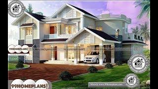 Indian House Design By 99HOMEPLANS COM [ Esp: M095 ]