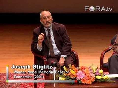 Joseph Stiglitz - Problems with GDP as an Economic Barometer