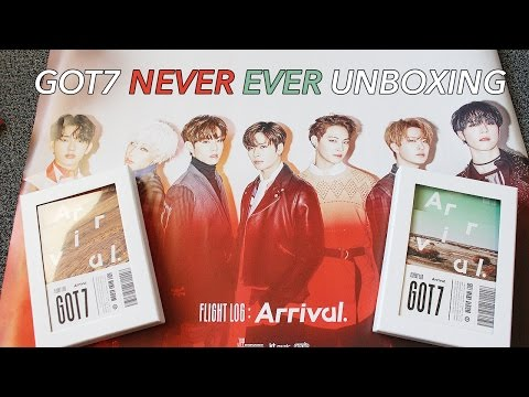 GOT7 'Arrival' Both Versions Unboxing