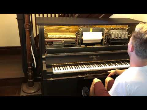 """""""Boogie Woogie"""" on a 1920's Behr Brothers Player Piano"""