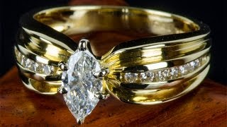 0.73 карат Золотое Кольцо с Природными Бриллиантами(, 2013-09-24T14:42:03.000Z)