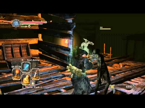 Dark Souls 2 Walkthrough - Everything possible before a boss - The Gutter 1