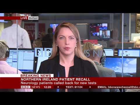 Belfast trust recalls 2,000 patients - Emma Vardy reports