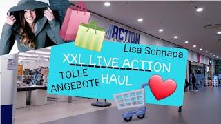 XXXL ACTION LIVE HAUL | LIVE SHOPPEN MIT MIR | GÜNSTIG SPARSAM TOLLE SACHEN | LIEBLINGSLADEN |