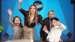 Jennifer Lopez REVEALS How She and Alex Rodriguez Got Together on the Ellen Show