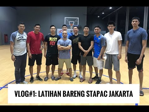 VLOG#1: Playing 3X3 With Stapac Jakarta! Almost Got My Ankle Broken! (English Subtitles)