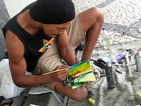 douglas - brazil street artist