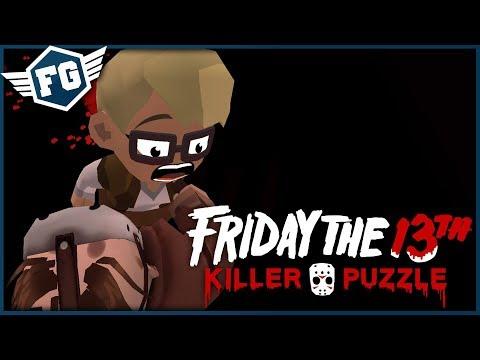 Friday the 13th: Killer Puzzle #7 - Uber Jason Vs Portály