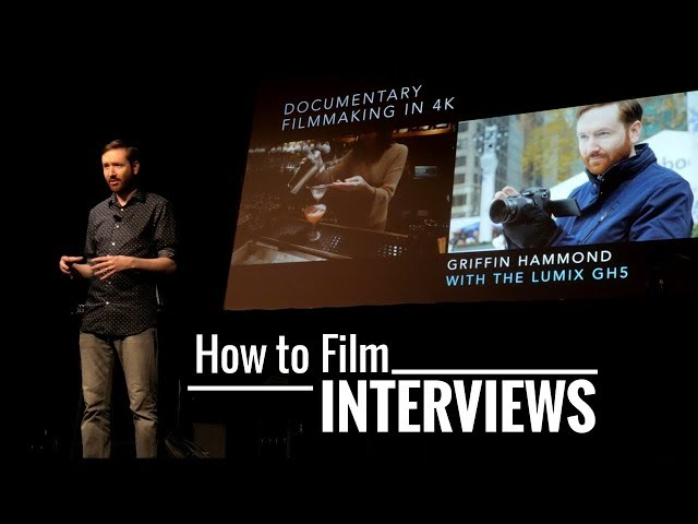 How to Film an Interview with Griffin Hammond