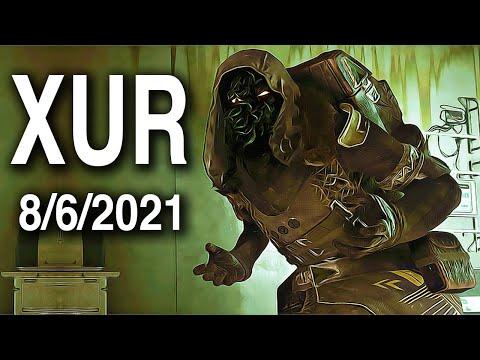 Xur Exotics Destiny 2 | Where Is Xur?