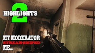 Escape from Tarkov - StreamSniped, New Weapon Spawn, Bigger Inventory and Bitcoin HIGHLIGHTS #2