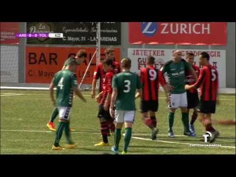 Fútbol 2ªB: Arenas Club de Getxo - C.D. Toledo