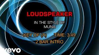 MUNA - Loudspeaker (Karaoke)