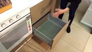 Обзор выдвижного ящика Тандембокс от Блюм