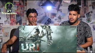 Pakistani React to URI | official trailer | Mumid Abbas