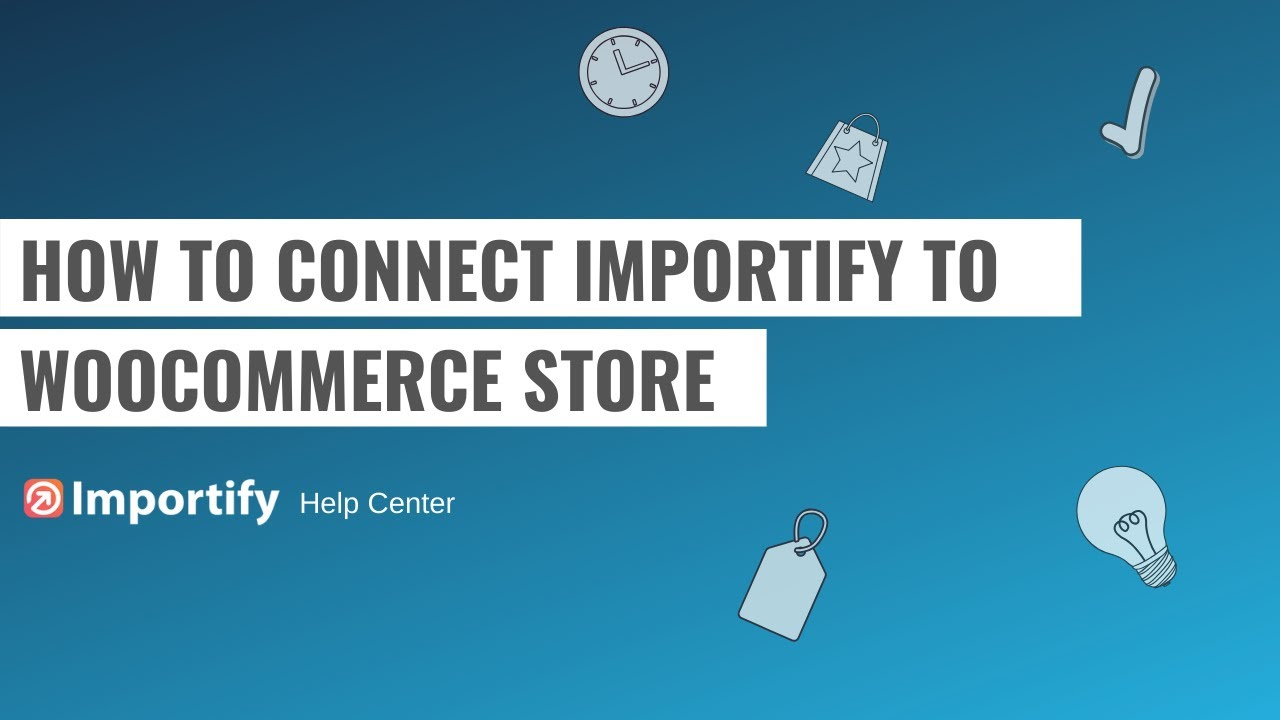 How to connect importify to Wordpress Woocommerce plugin