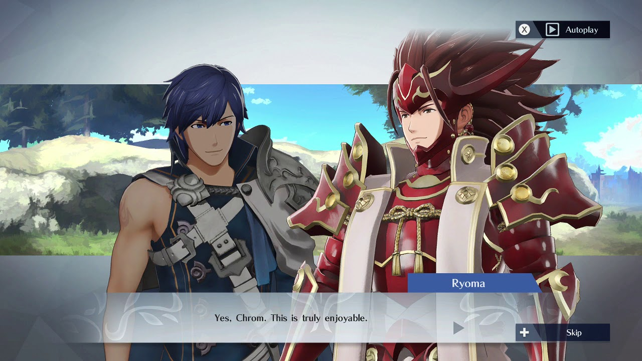 Image result for fire emblem warriors support convo