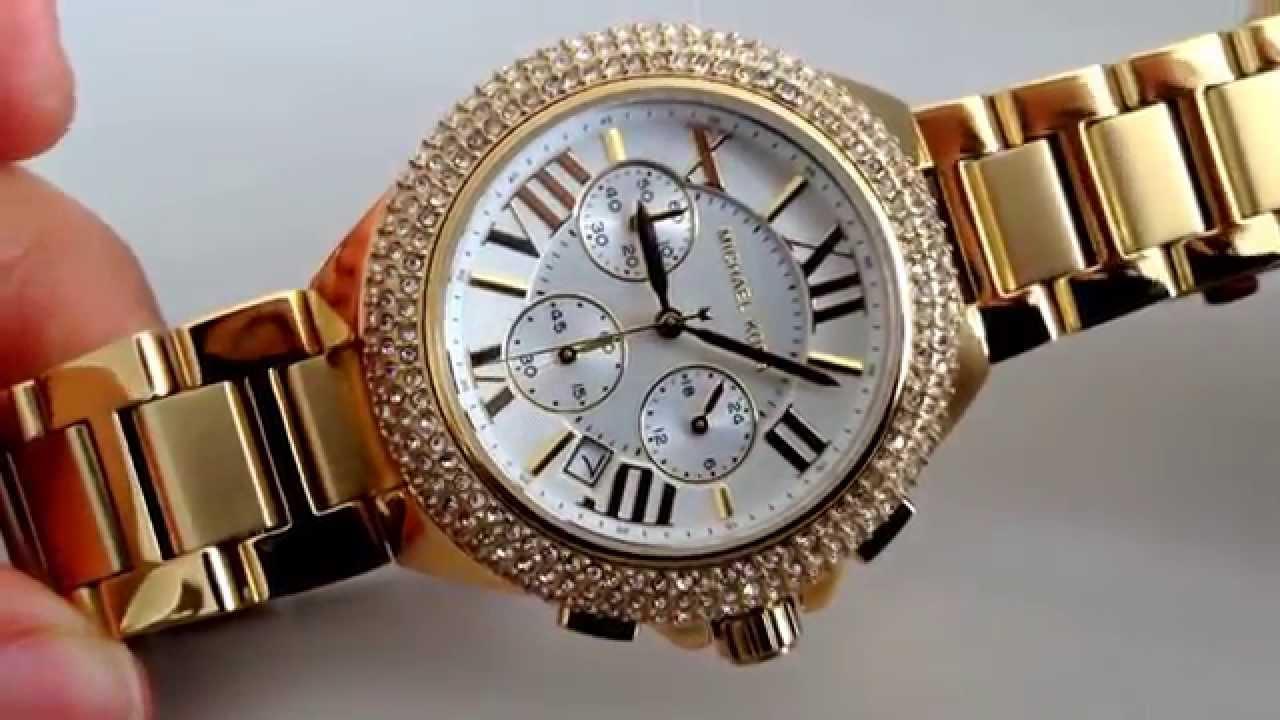 Michael Kors MK5756 Camille Damenuhr, Markenuhr, Luxusuhr, Gold Uhr