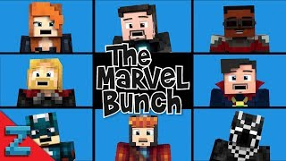"""The Marvel Bunch"" Avengers: Infinity War (Minecraft Animated Music Video)"