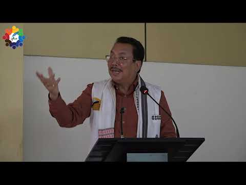 Deputy Chief Minister of Arunachal, Sri Chowna Mein | Speech | Gyan Sangam 2018
