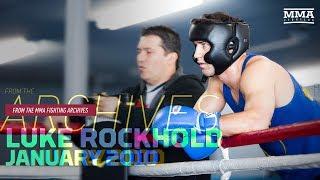 MMA Fighting Archives: Luke Rockhold - San Jose, January, 2010