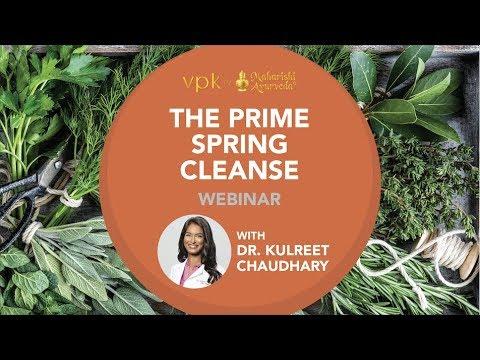 The Prime Spring Webinar -- vpk by Maharishi Ayurveda
