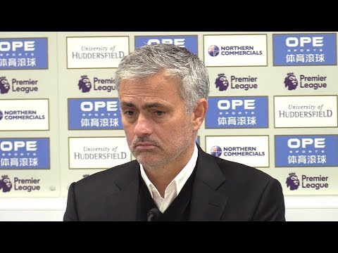 Huddersfield 2-1 Manchester United - Jose Mourinho Full Post Match Press Conference - Premier League