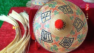 Fascinating China EP29: Maonan Bamboo-hat Weaving Technique | CCTV