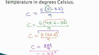 Convert Units - Temperature Conversion