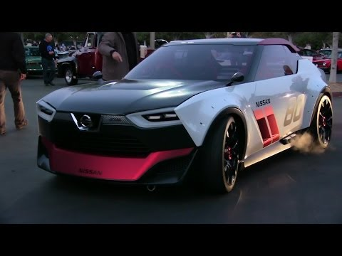 Nissan IDx Nismo concept and IDx Freeflow concept car driving!