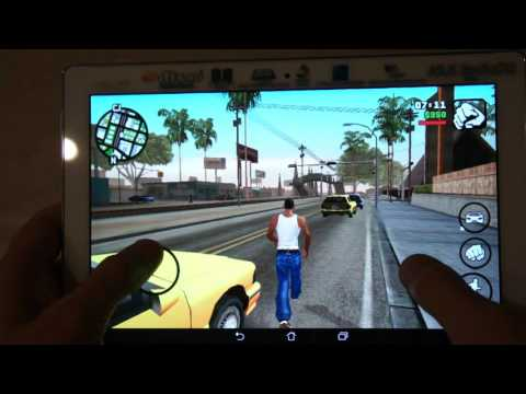 ASUS ZenPad 10 Z300C GTA San Andreas GamePlay