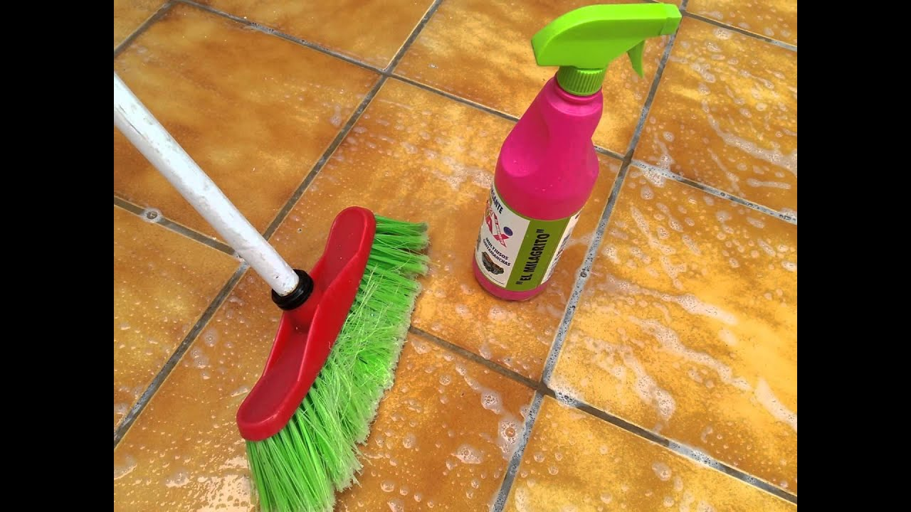 Desengrasante multiusos el milagrito c mo limpiar un - Como limpiar suelo porcelanico ...
