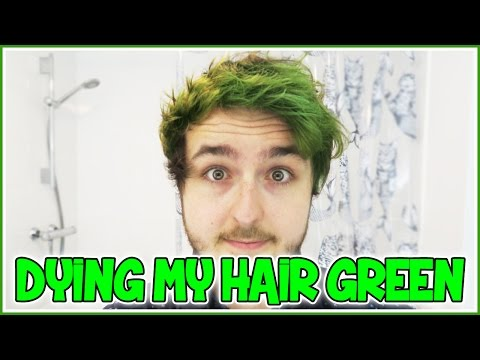 DYING MY HAIR GREEN! | QnA