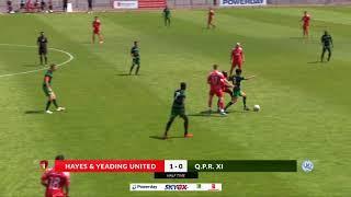 Hayes & Yeading Utd v QPR U23s - 7th July 2018