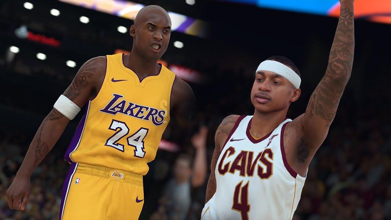 the best attitude 7acb0 dc946 NBA 2K18 Official Kobe Bryant Rating & Screenshot + Isaiah Thomas Cavs  Screenshot!